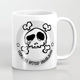Never Stop Smiling (light) Coffee Mug