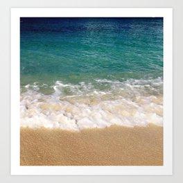 Cayman Waves Art Print