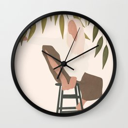 Chill Day Wall Clock