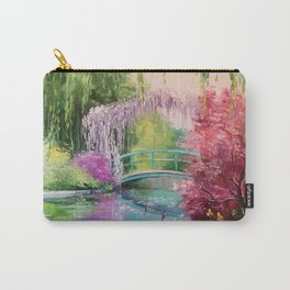 In the garden of Monet Carry-All Pouch