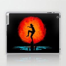Minimalist Karate Kid Tribute Painting Laptop & iPad Skin