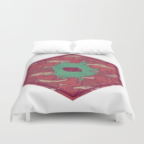Away from Everything Duvet Cover