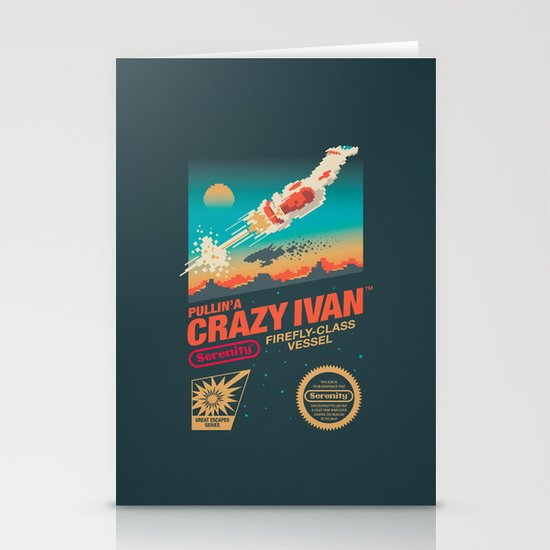 Crazy Ivan Stationery Cards
