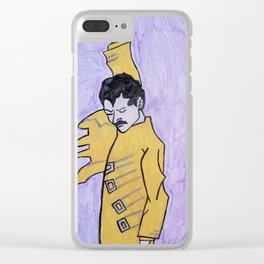 Freddy mercury Clear iPhone Case