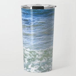 Waves Crashing Travel Mug