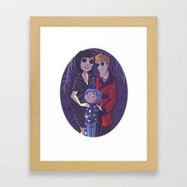 coraline Framed Art Print