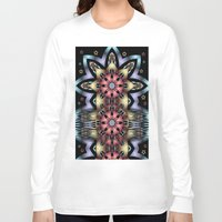 fairy tale Long Sleeve T-shirts featuring Fairy-tale stars lake by thea walstra