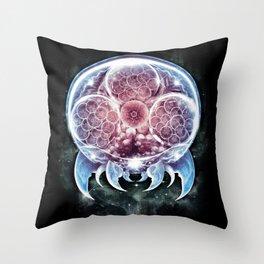 The Epic Metroid Throw Pillow