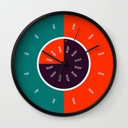 The People's Clock Wall Clock