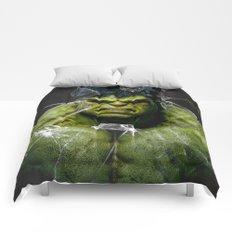 Angry HULK  Comforters