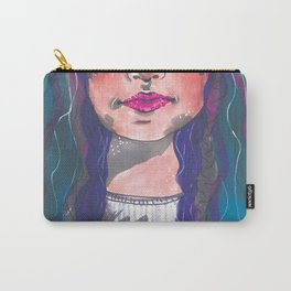 Dyed Curls Carry-All Pouch