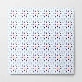 symmetric patterns 123 Metal Print
