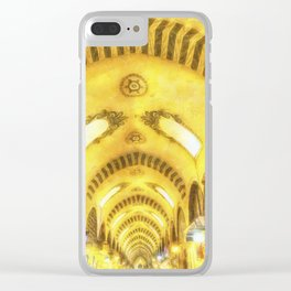 The Spice Bazaar Istanbul Art Clear iPhone Case
