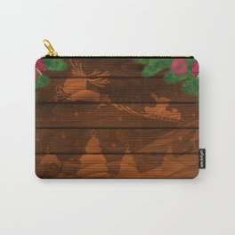 Christmas background Carry-All Pouch
