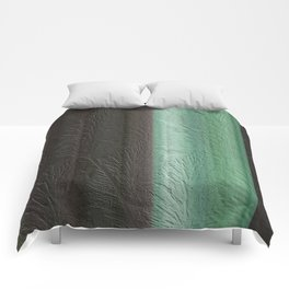 Green Leaf Overlay Comforters