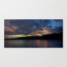 Sunset Panorama... Canvas Print