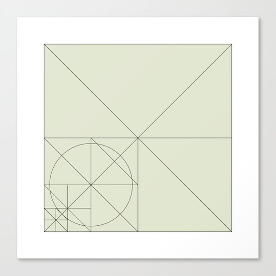 #93 Intruder on the radar – Geometry Daily Canvas Print
