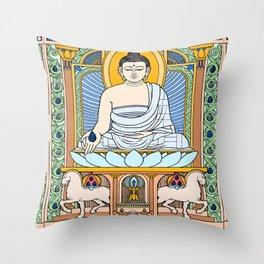 BUDDHA 02 Throw Pillow