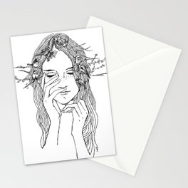 close your eyes, then you will see Stationery Cards