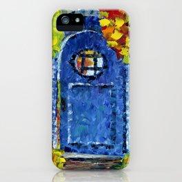 Door to the Secret Garden iPhone Case
