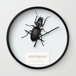 Yesterday - Alternative Movie Poster Wall Clock