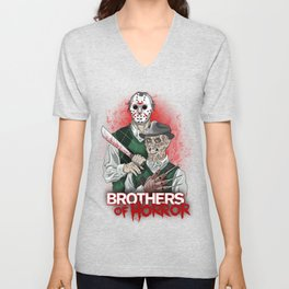 Brothers of Horror Unisex V-Neck