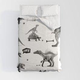 Dinosaur Hunt Comforters