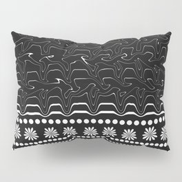 Licorice and flowers Pillow Sham