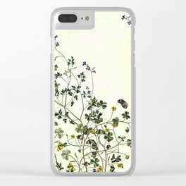 The cultivation of wild Clear iPhone Case