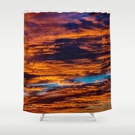Feu Shower Curtain