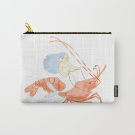 The Magnificent Shrimp Rider Carry-All Pouch