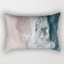 Crashing waves Rectangular Pillow