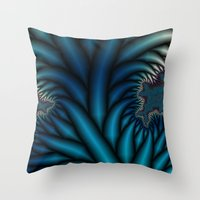 chakra Throw Pillows featuring Soul Chakra by Christy Leigh