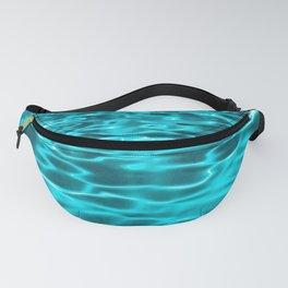 Aqua Water Reflections Fanny Pack