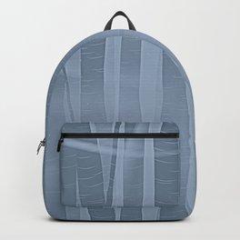 Woodland -  Minimal Blue Birch Forest Backpack