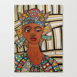 Lady of Orleans Print Canvas Print