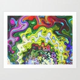 Gamma Tides Art Print