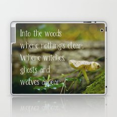 Where witches, ghosts and wolves appear Laptop & iPad Skin