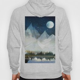 Mountain Lake Under the Starlight Hoody