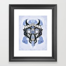 Canis Lupus: Black Framed Art Print