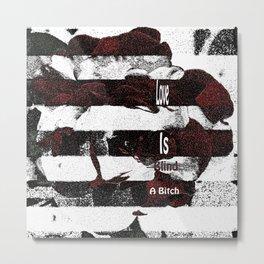 Love is...A Metal Print