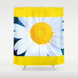 SMILE - Daisy Flower #2 Shower Curtain