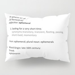 Ephemeral Pillow Sham