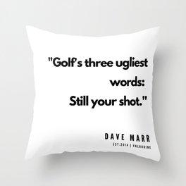 30   | Golf Quotes | 190606 Throw Pillow