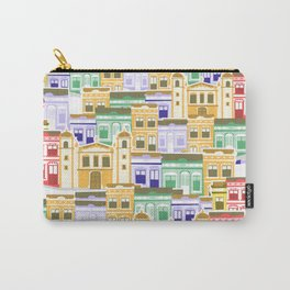 Houses of Brazilian Carnival Carry-All Pouch