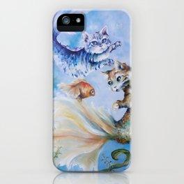 Mercats (cat fish) iPhone Case