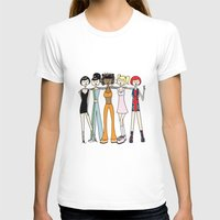 spice girls T-shirts featuring The Spice Girls by flapper doodle