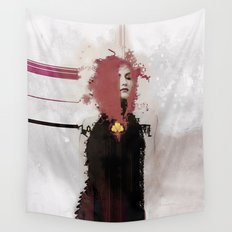 With regards; elaboration Wall Tapestry
