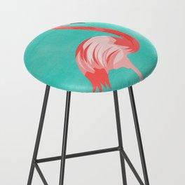 Flamingo Bird Bar Stool