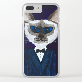 Pascal the Cat Clear iPhone Case